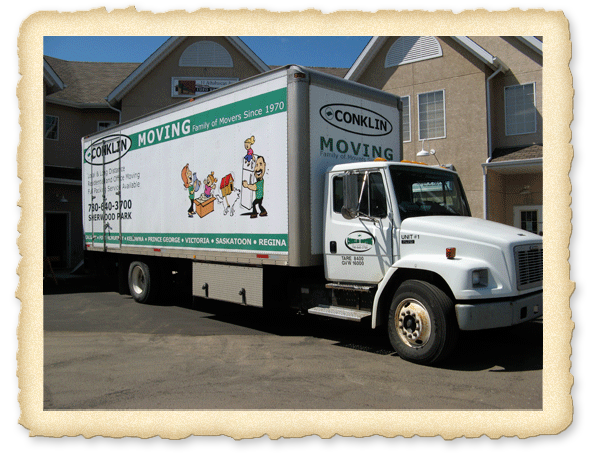 Contact Conklin Moving